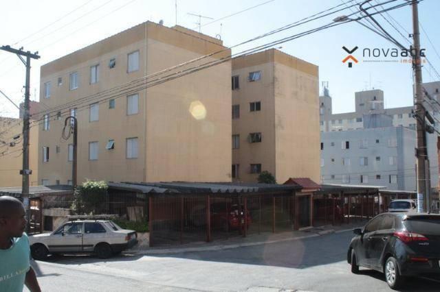 Apartamento com 2 dormitórios para alugar, 50 m² por R$ 1.020/mês - Vila Camilópolis - San - Foto 3