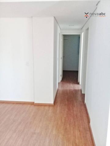 Apartamento com 3 dormitórios para alugar, 85 m² por R$ 2.500/mês - Jardim - Santo André/S - Foto 5