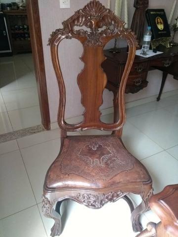Jogo de 6 cadeiras Dom José