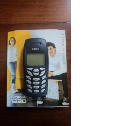 Celular Nokia 1220 Com Defeito