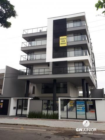 Apartamento à venda com 1 dormitórios em Saguaçu, Joinville cod:490