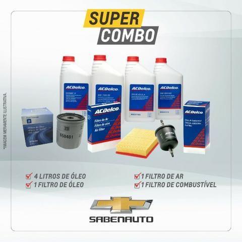 KIT: Filtro de oleo, Filtro de combustivel, Elemento do Filtro, Lub ACD Semi Sintético