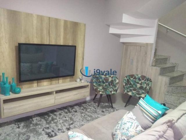 Linda casa com 3 dormitórios à venda, 86 m² por r$ 425.000 - jardim santa maria - jacareí/ - Foto 3