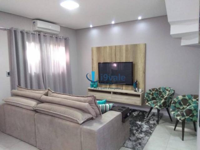 Linda casa com 3 dormitórios à venda, 86 m² por r$ 425.000 - jardim santa maria - jacareí/ - Foto 7