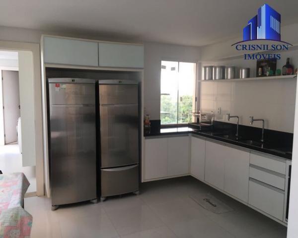 Casa à venda alphaville ii, salvador, r$ 1.650.000,00, armários, 4 suítes, espaço gourmet, - Foto 18