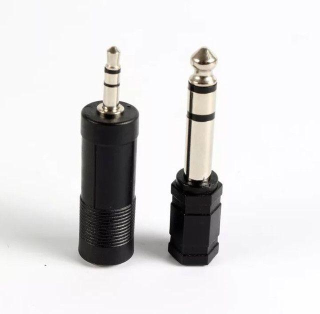 Adaptador P10-P2 e Adaptador P2-P10 - Entrega Grátis