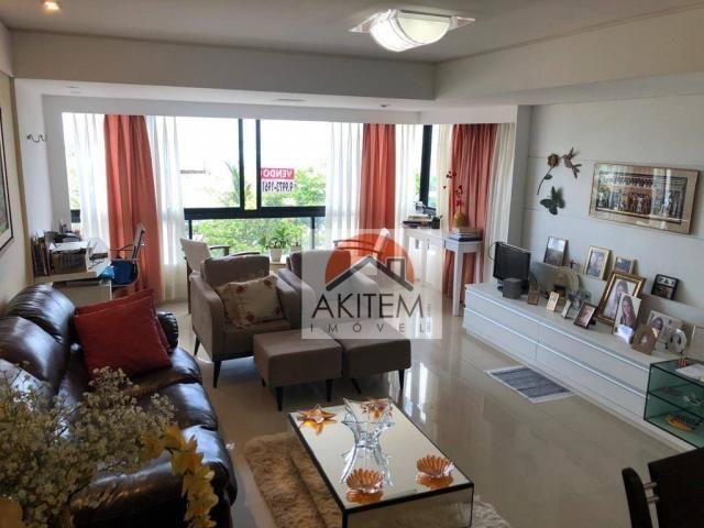 Apartamento na Beira Mar com 4 dormitórios à venda, 146 m² por R$ 620.000 - Casa Caiada -  - Foto 7