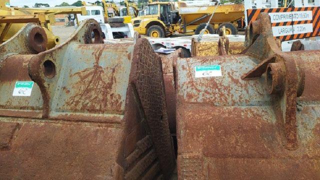Concha Escavadeira Volvo 460 - 2 un. - #7851 - Foto 5