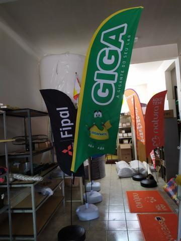 Flag Banner ou Wind Banner - Foto 5