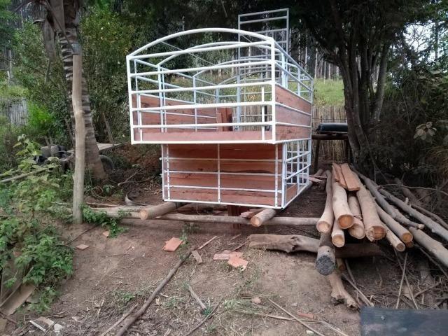 Gaiola boiadeira para caminhonete - Foto 4