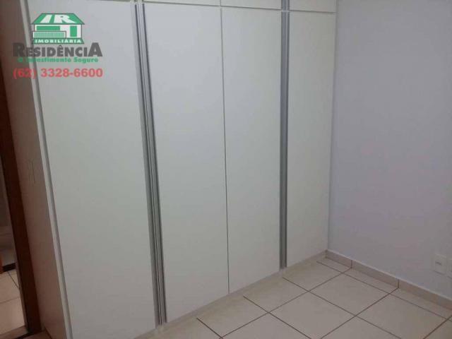Apartamento com 3 dormitórios para alugar, 88 m² por R$ 1.500,00/mês - Jundiaí - Anápolis/ - Foto 6