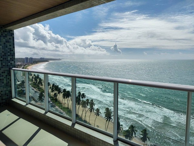 Apartamento beira mar a venda em Maceió com 250 metros quadrados com 4 suítes Ed. Gênova R - Foto 3