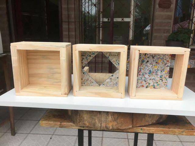 Caixa modelo INPA abelhas sem ferrão - ASF - Foto 3