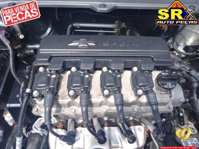 Motor Parcial Chevrolet Onix hatch ltz 1.4 8v flex automático 2016 - Foto 2