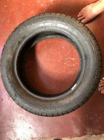 Vendo Pneu 185/60 R15 OU troco por pneu 185/70 R14 - Foto 3
