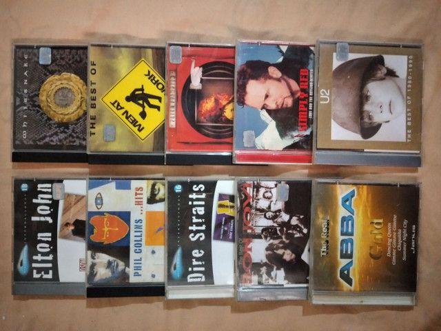 """Coleção de CDs Internacional e Nacional  POP Antigos """"ORIGINAIS""""<br>"""