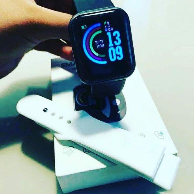Kit 2 smartwatchs d20 preço de atacado ultimas peças  - Foto 2