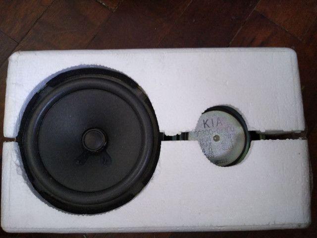 Auto falantes originais Kia Picanto 2011. - Foto 3