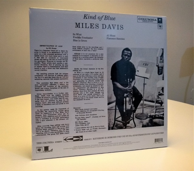 Miles Davis - Kind of Blue (vinil lacrado importado) - Foto 3