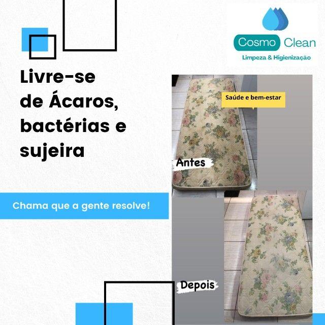 limpeza e higienização sofá colchao poltronas carros - Foto 2