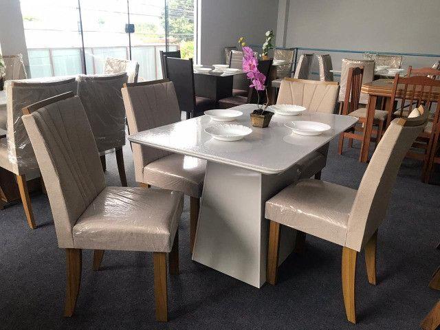 Mesa de Jantar 4 Cadeiras Celebrare medida do tampo 120X80 - Foto 5