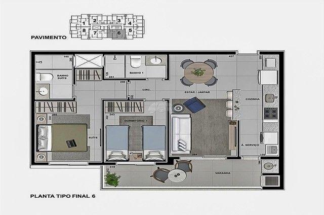 Apartamento à venda com 3 dormitórios em Caioba, Matinhos cod:155296 - Foto 18