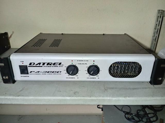 Amplificador pa3000 datrel (aceito cartão)