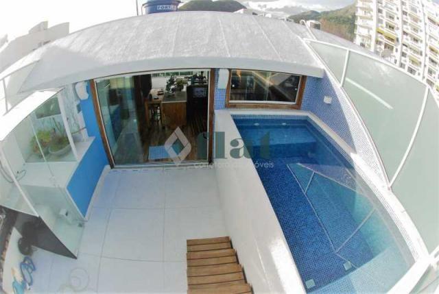 Apartamento à venda com 2 dormitórios em Barra da tijuca, Rio de janeiro cod:FLCO20001 - Foto 2