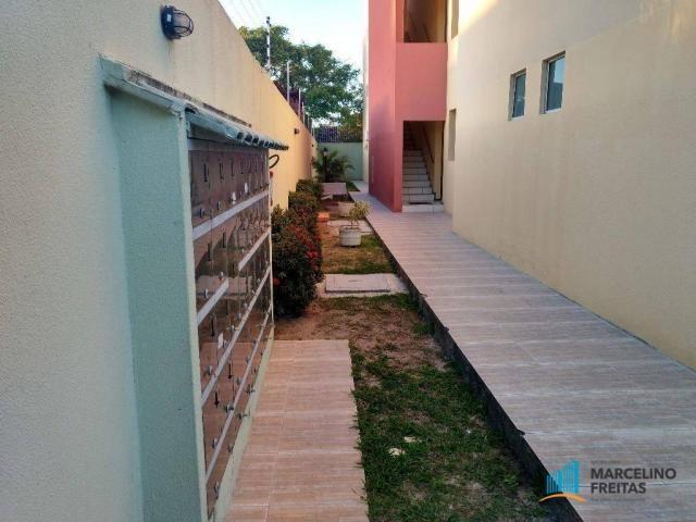 Apartamento 02 quartos sendo 01 suíte + wc. social, R$ 139mil. Mondubim, Fortaleza-Ce. - Foto 3