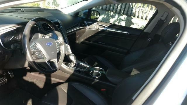 Ford Fusion Turbo Ecoboost Prata