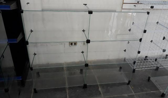 Balcão de vidro 1.20mt em 12x sem juros no cartão - Foto 2