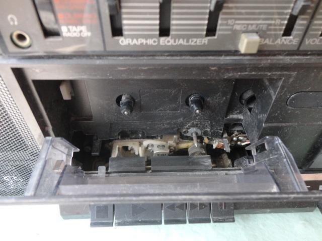 Rádio Gravador Sony Antigo Leia Campo Descrição Deste Anúnci - Foto 2