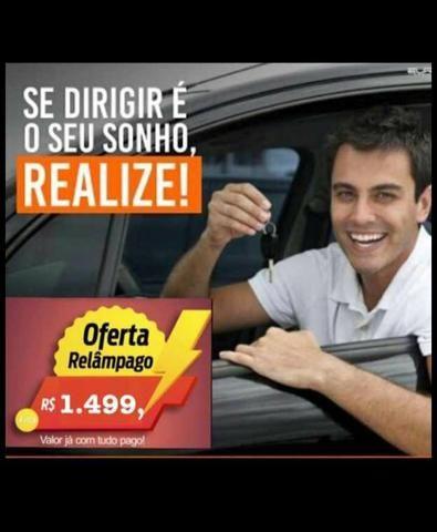 Carteira de motorista. cat B.1.500 Com todas as taxas inclusas Detran e clínica pagas - Foto 2