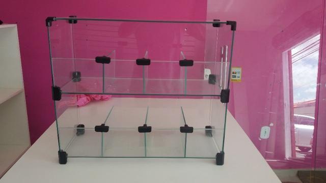 Expositor vidro