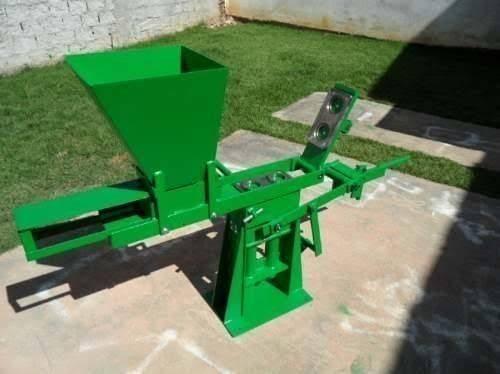 Máquina de tijolo ecologico mais o triturador