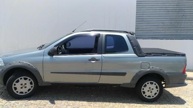 Fiat Strada Working 1.4 Flex - Cabine Dupla - Completa Ano Modelo 2012 - Foto 2