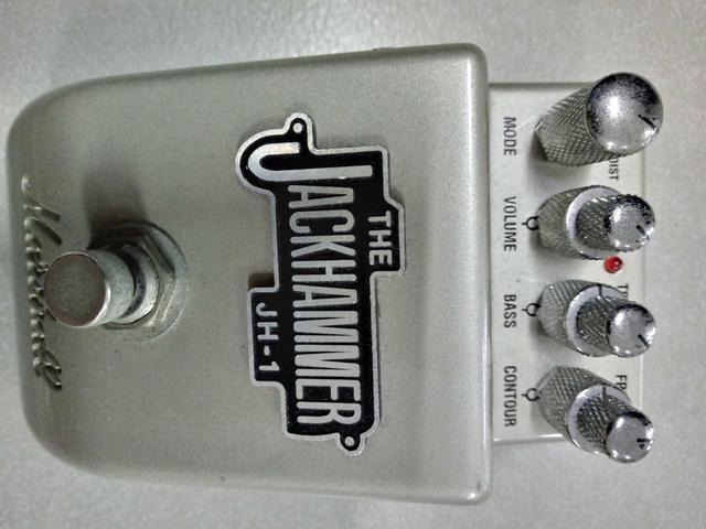 Pedal Marshall Jackhammer Overdrive/Distortion