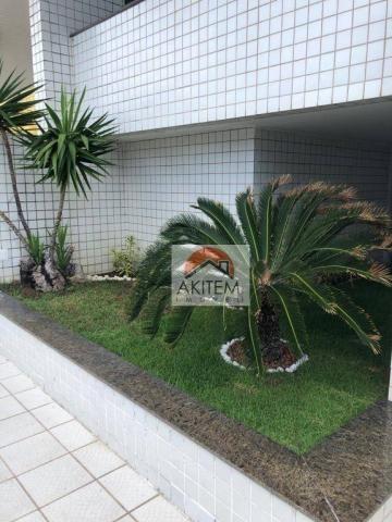 Apartamento na Beira Mar com 4 dormitórios à venda, 146 m² por R$ 620.000 - Casa Caiada -  - Foto 4