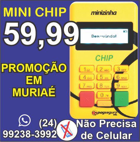 Mini Chip Maquina de Cartão -não precisa de celular