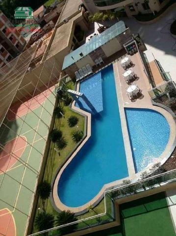 Apartamento com 3 dormitórios para alugar, 88 m² por R$ 1.500,00/mês - Jundiaí - Anápolis/ - Foto 3