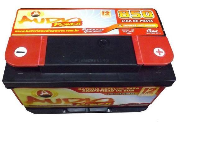 Promoção Bateria Audio Power 95ah/850ah Pico Som Automotivo ou Arranque - Foto 3