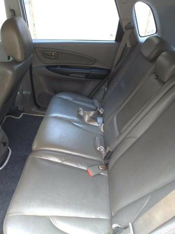 Tucson 09/10 automática, completa, com teto solar, Motor v6, 4x4, pneus bons toda revisada - Foto 6