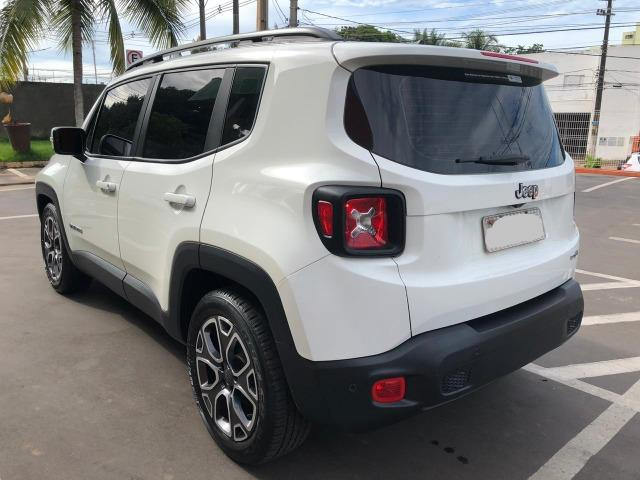 '' Praticamente Zero, Jeep Renegade Longitude 1.8 4X2 Automático 2017/2017 '' - Foto 8