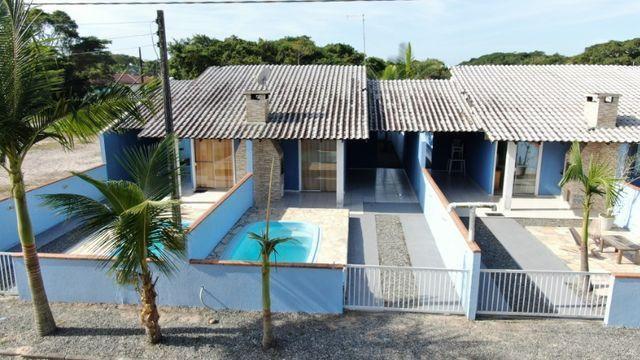 Casa com dois quartos- Itapoá- SC