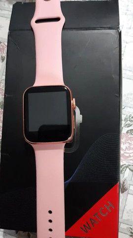 Relógio Smartwatch X7 Rose - Foto 2