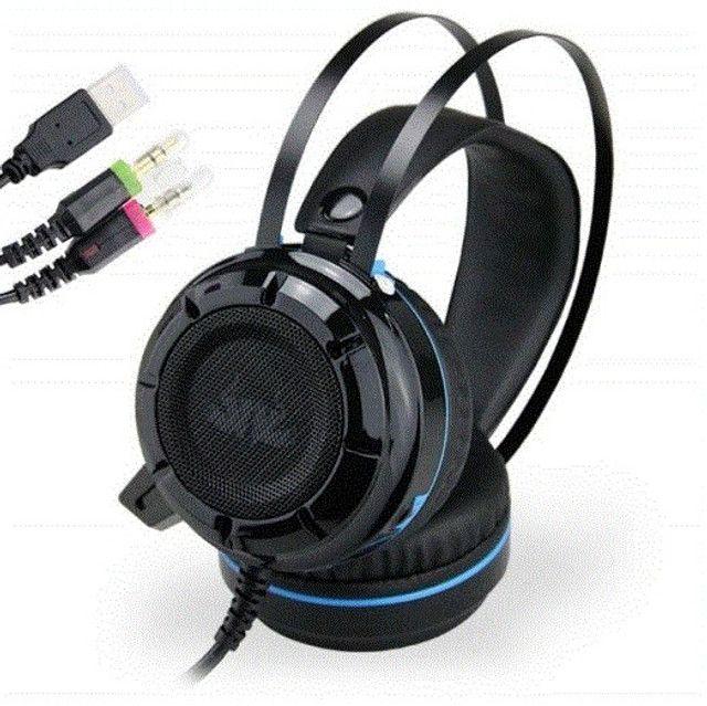 Headset Pc Kp-417 Vibration Knup - Foto 3