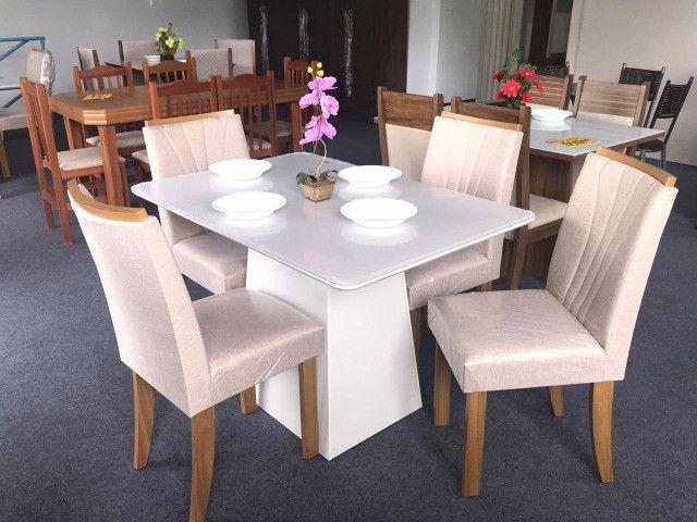 Mesa de Jantar 4 Cadeiras Celebrare medida do tampo 120X80 - Foto 2