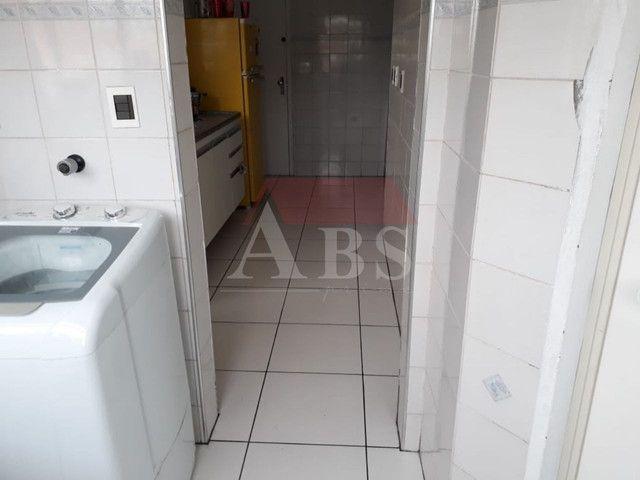 Apartamento amplo 2 dorms. no Campo Grande em Santos garagem demarcada, elevador, salão de - Foto 13