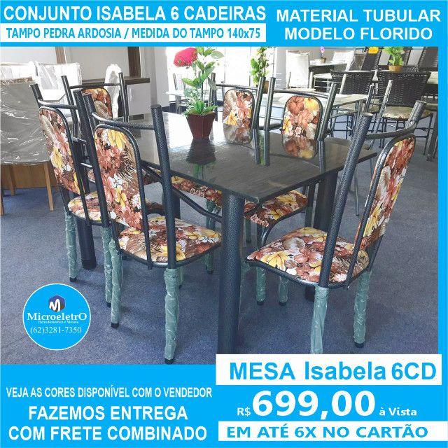 Mesa Isabela 6 Cadeiras 140x75 Florida