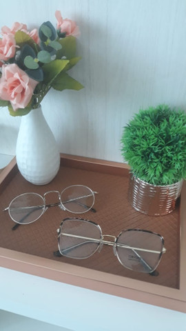 Óculos graduados e sol